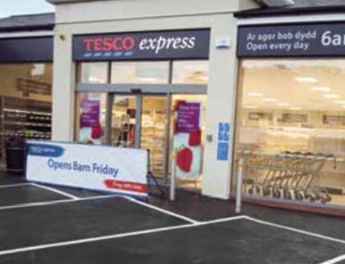 Base Build Services, Single Storey Tesco Express Convenience Store